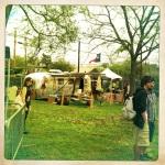 The backyard on Thursday