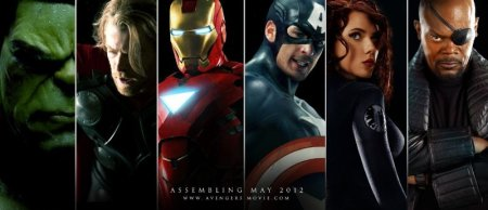 characters from the Avengers movie