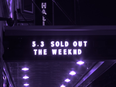 The Weeknd at Lincoln Hall in Chicago