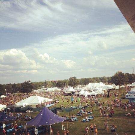 Bonnaroo 2012 Tents