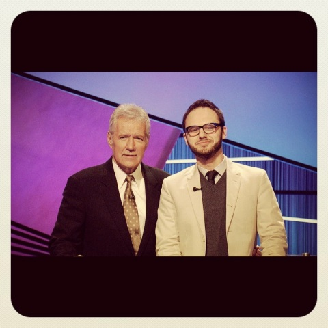 Leo and Alex Trebek