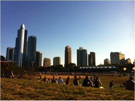 Lollapalooza 2012, Grant Park