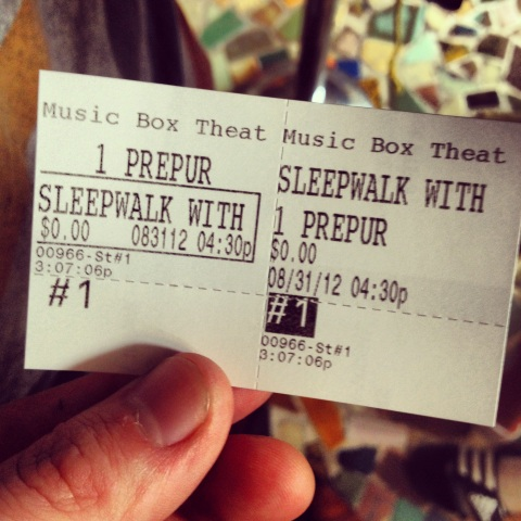 Sleepwalk With Me_Music Box_Review